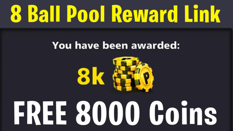 8 ball pool free coin