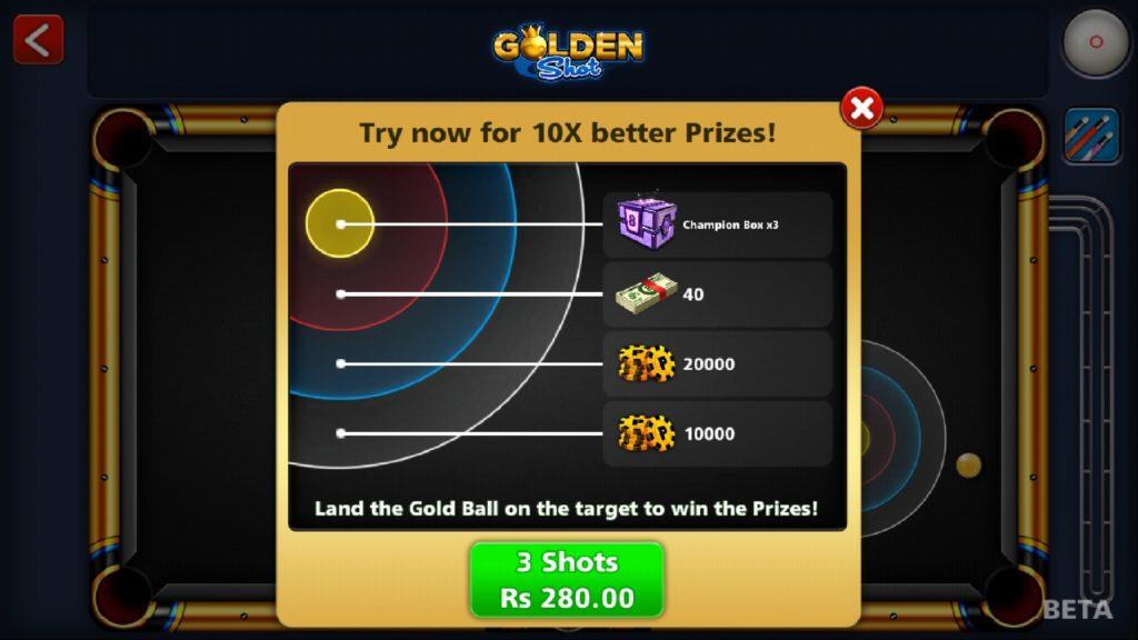 8 ball pool free lucky shot