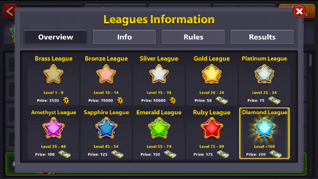 8 Ball Pool My League