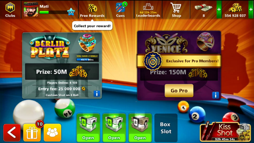 8 Ball Pool Berlin Venice