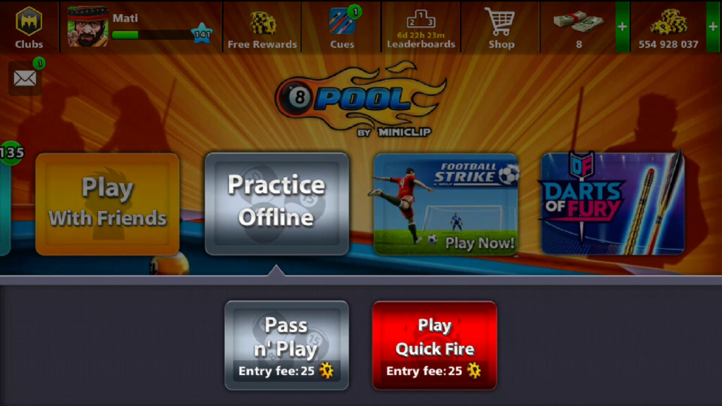 8 Ball Pool Practice Offline