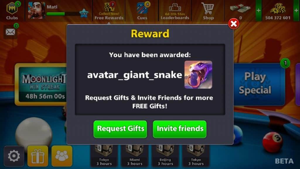 Giant Snake Avatar