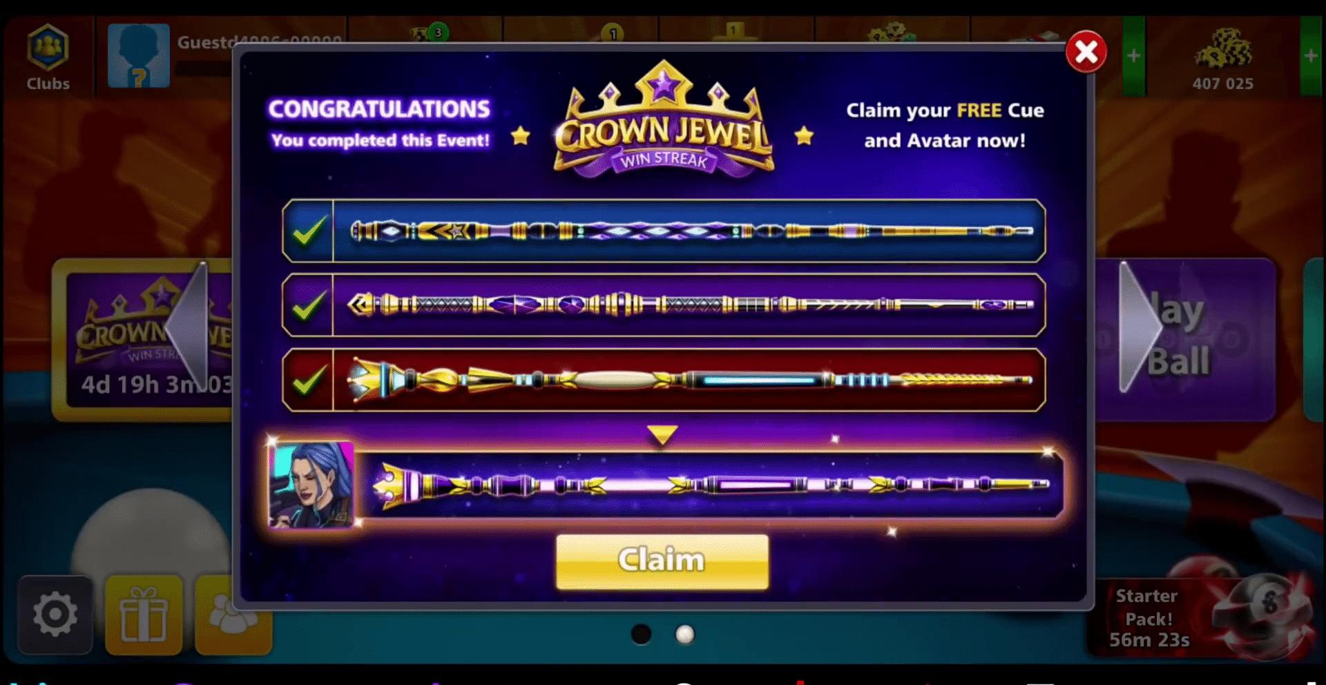 royal jewel cue