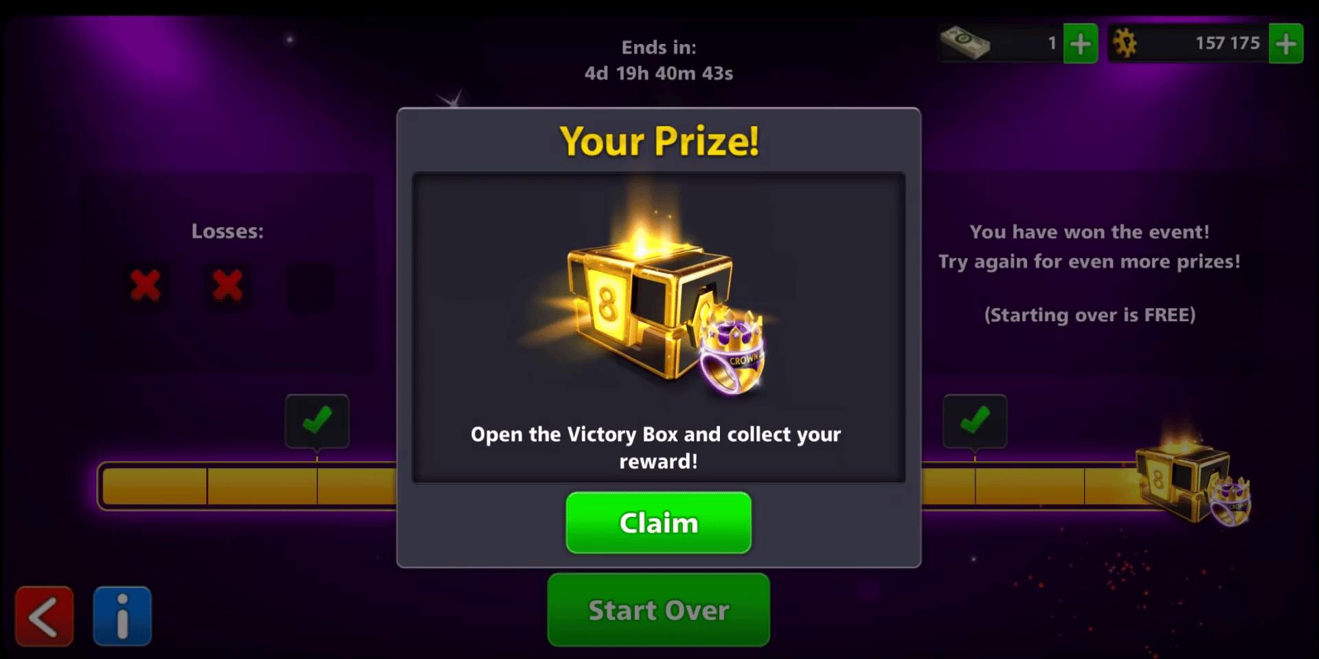 win streak free box