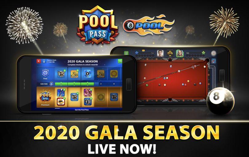 8 Ball Pool 2020 Gala Season