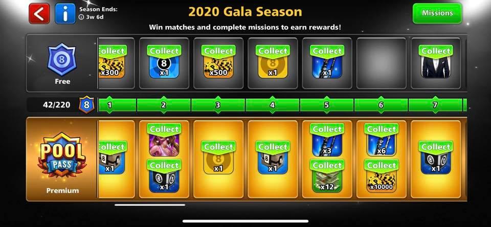 2020 gala season max rank