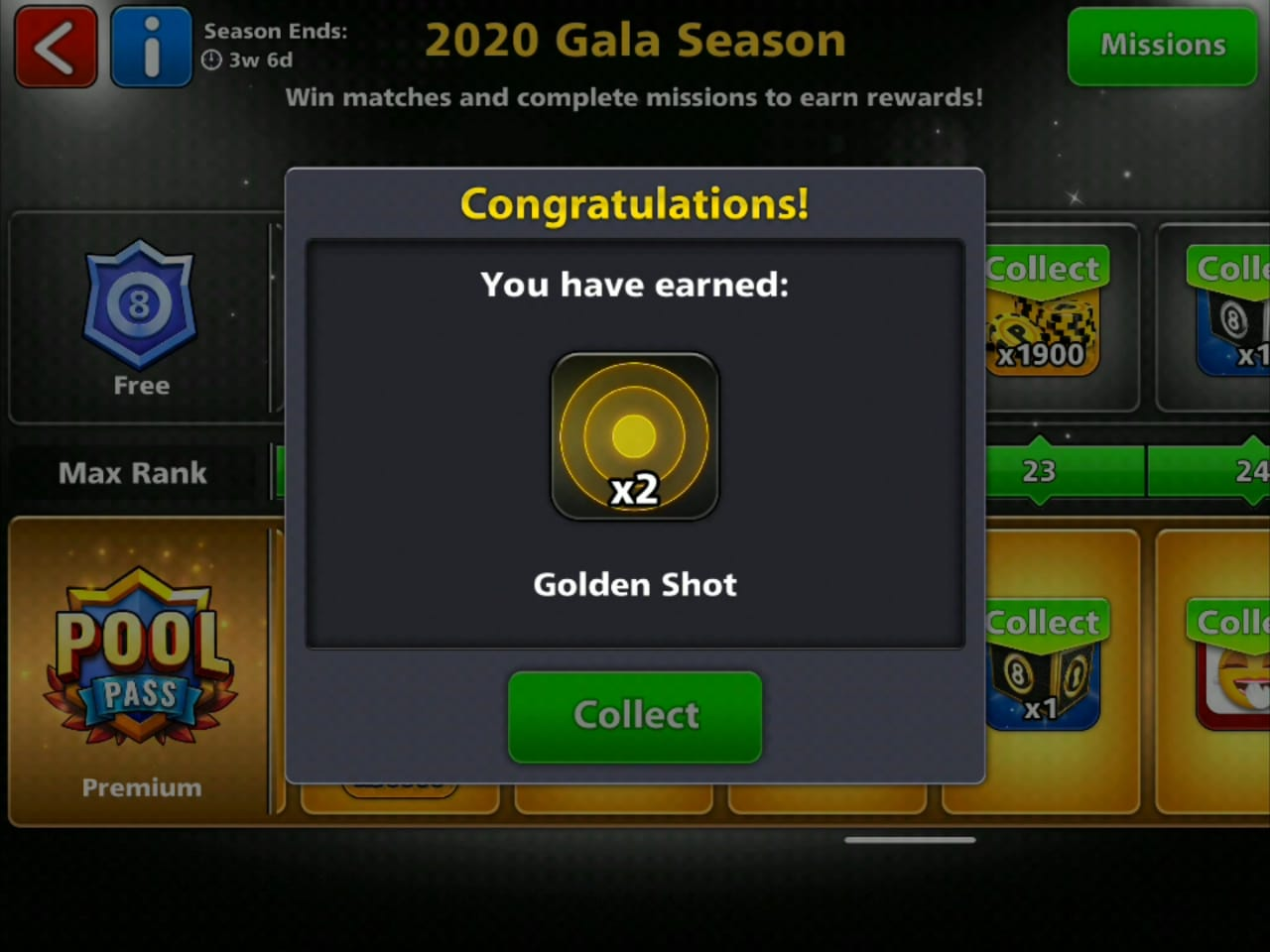 8 Ball Pool Free Golden Shot