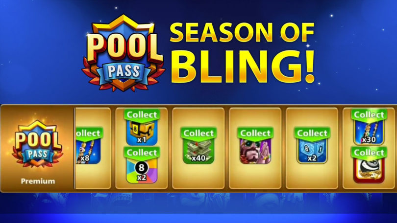 Pool Pass Season Of Bling