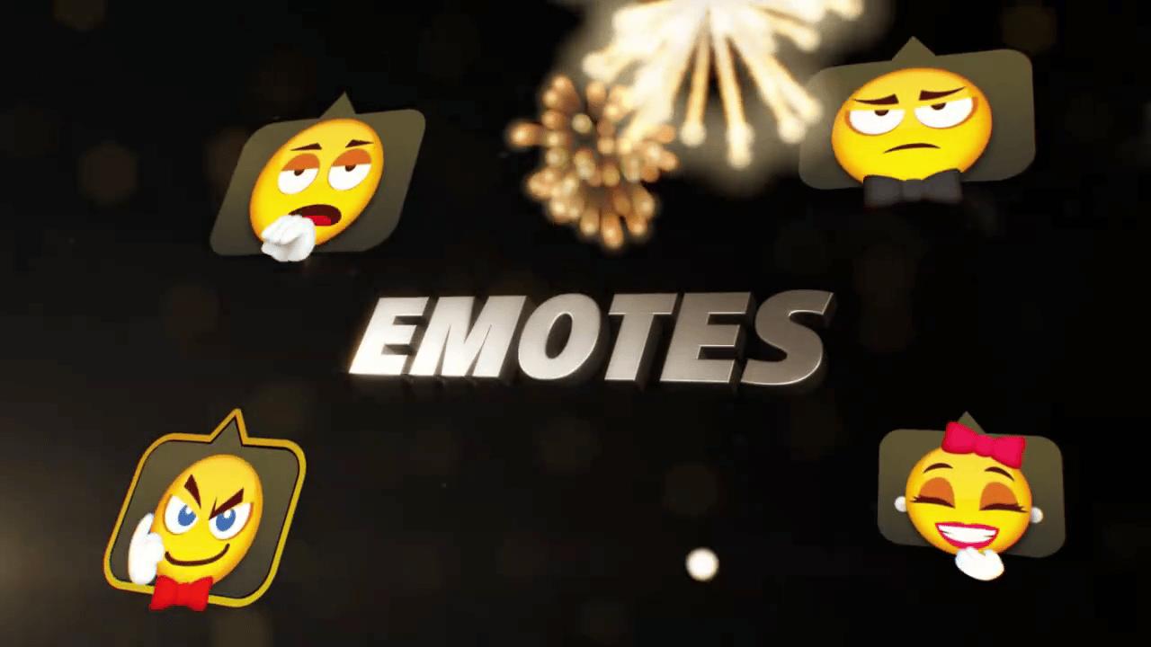 2020 Gala Season emotes