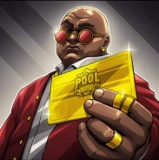 8 ball pool gold card avatar