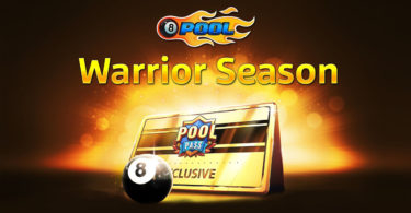 8 ball pool warrior season