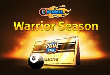8 ball pool warrior season
