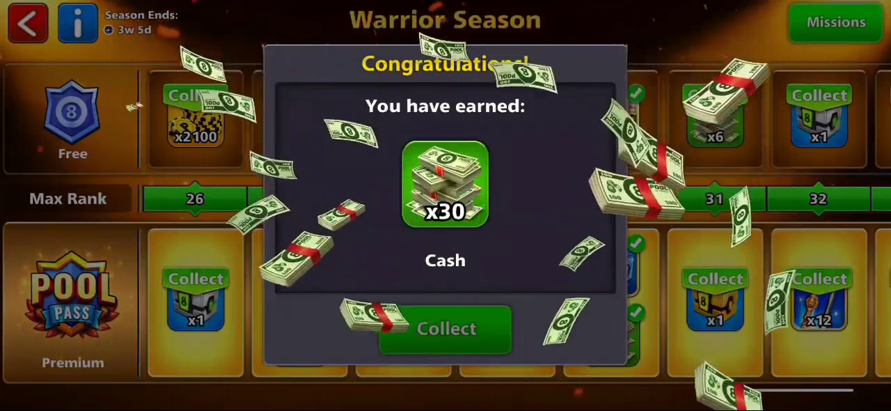 8 ball pool free cash