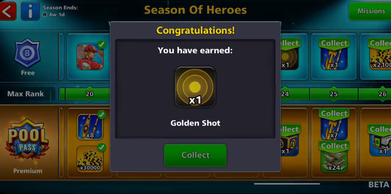 season of heroes golden shot